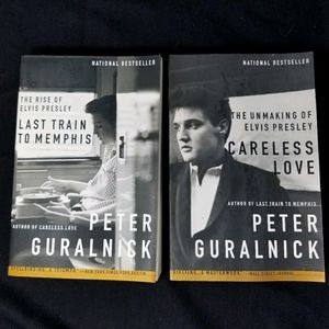 2- ELVIS PRESLEY PAPERBACK BOOKS - PETER GURALNICK